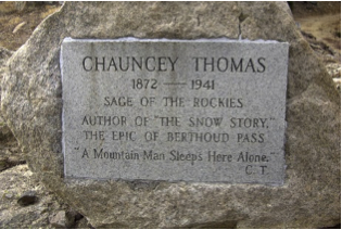 Chauncey Thomas memorial